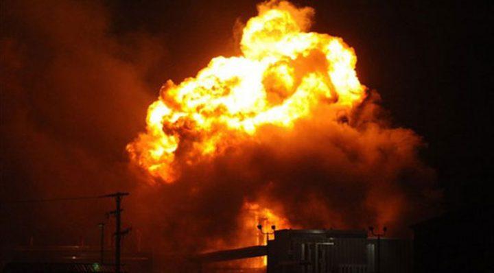 انفجار في ورشة للحدادة بغزة يُوقع إصابتين