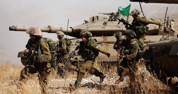قوات الاحتلال تُجري تدريبات عسكرية الإثنين