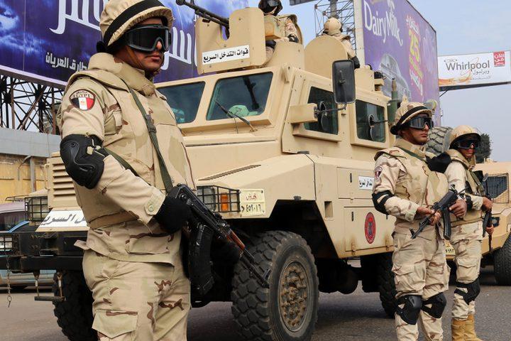 الجيش المصري: مقتل 19 مسلحا خلال حملته في سيناء