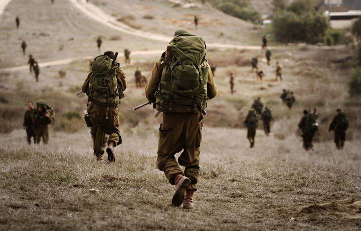 إطلاق نارومناورات إسرائيلية بغلاف غزة