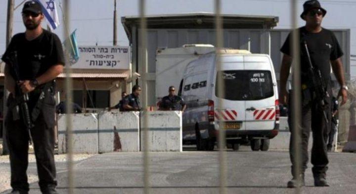 """إدارة سجون الاحتلال تنقل الأسير  جنازرة مجددا  إلى عزل """"عسقلان"""""""