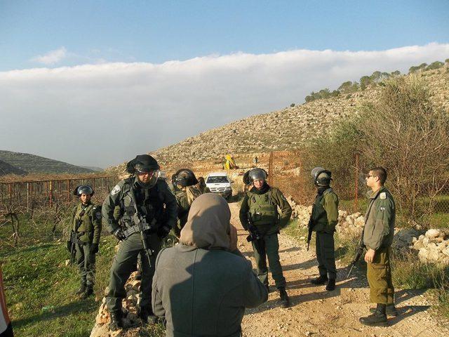 """الاحتلال يقتحم الأغوار الشمالية ويهدم """"بركسات"""" زراعية"""
