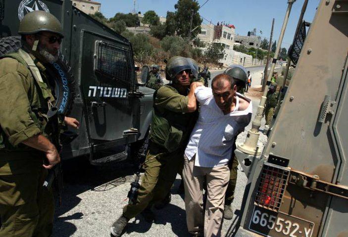 اعتقال15 مواطنا من محافظات جنين ونابلس ورام الله وسلفيت (محدث)