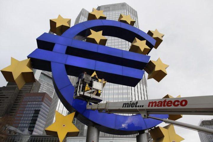 انحسار التراجع الاقتصادي في منطقة اليورو