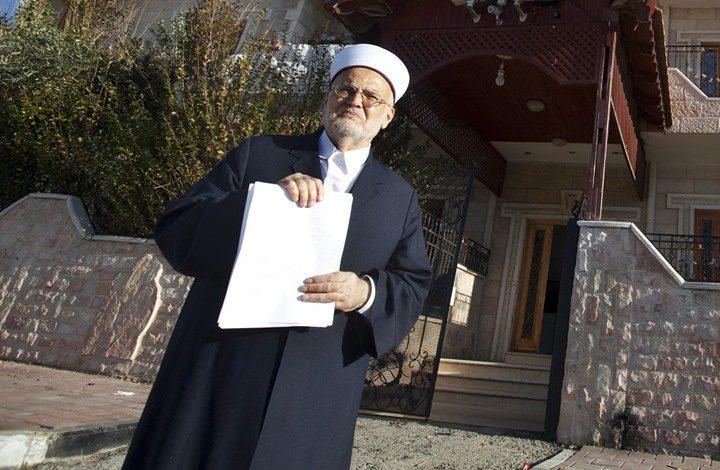 إبعاد الشيخ عكرمة صبري عن المسجد الأقصى لمدة 4 أشهر