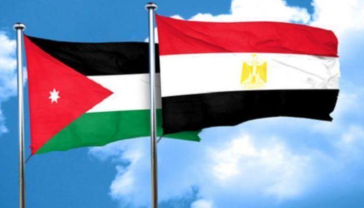 الأردن ومصر يحذران الاحتلال من تبعات تنفيذ سياسة الضم