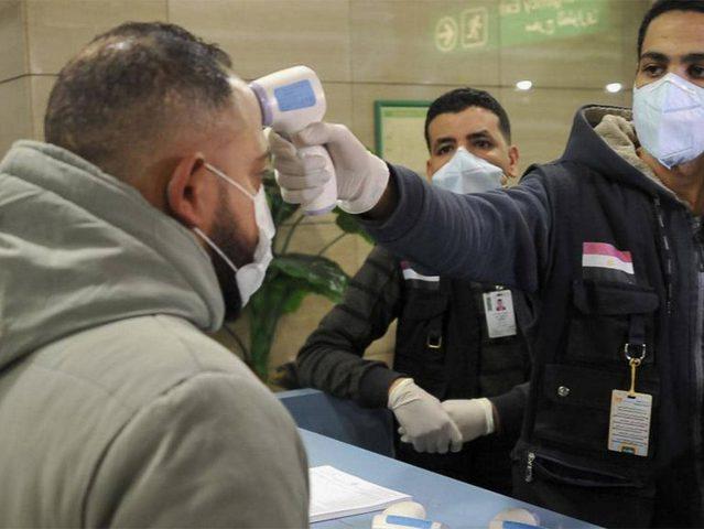 مصر: تسجيل 38 حالة وفاة و1152 إصابة جديدة بفيروس كورونا