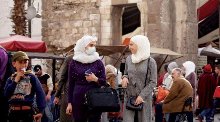 """ارتفاع حصيلة إصابات فيروس """" كورونا""""  إلى 124 في سوريا"""