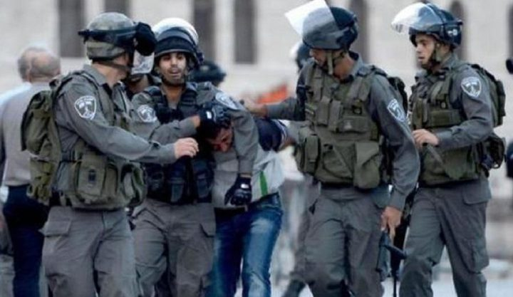 القدس: قوات الاحتلال تعتقل 4 شبان من البلدة القديمة