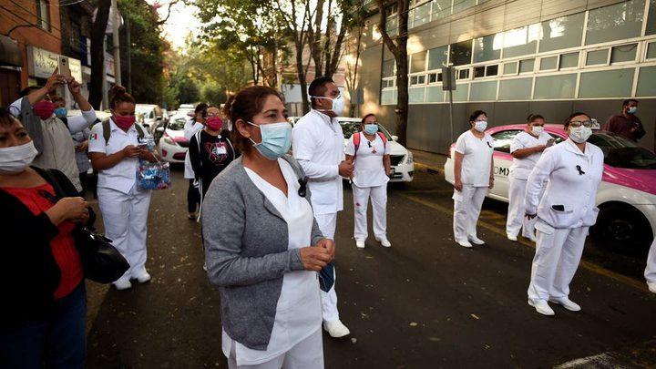 625 وفاة و4346 إصابة جديدة بفيروس كورونا في المكسيك