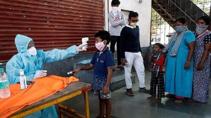 الهند تسجل 10 آلاف إصابة بكورونا خلال يوم واحد