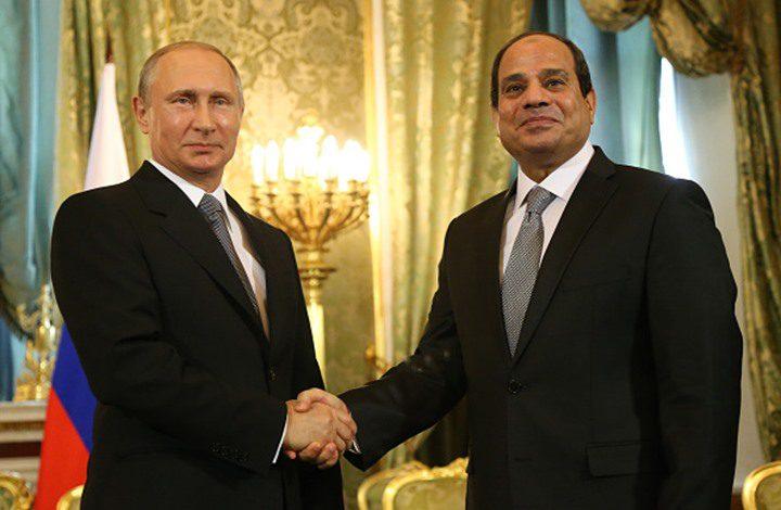 بوتين والسيسي يبحثان الأزمة السياسية في ليبيا