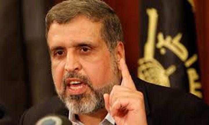 روحاني يقدم التعازي بوفاة رمضان شلح