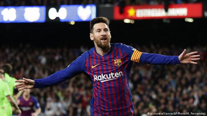 ميسي يطمئن قلب برشلونة