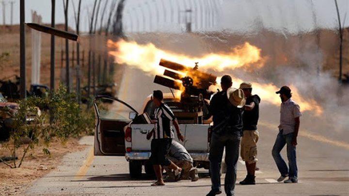 بوتين وميركل يؤكدان ضرورة وقف إطلاق النار في ليبيا