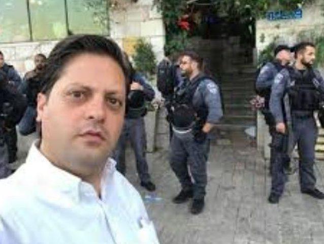 شرطة الاحتلال تستدعي الصحفي أحمد جلاجل للتحقيق
