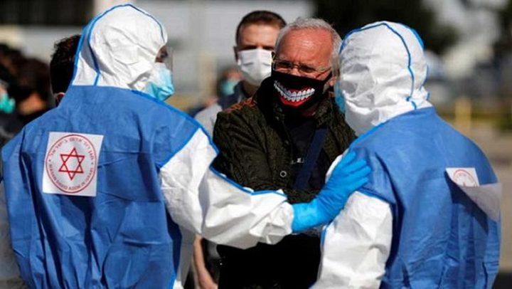 حالة وفاة و214 إصابة جديدة بفيروس كورونا لدى الاحتلال