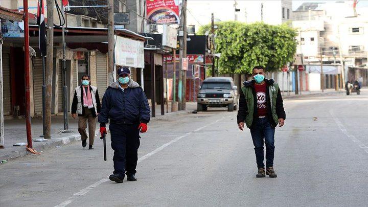 """غزة: تعافي 4 حالات من المصابين بـ""""كورونا"""""""