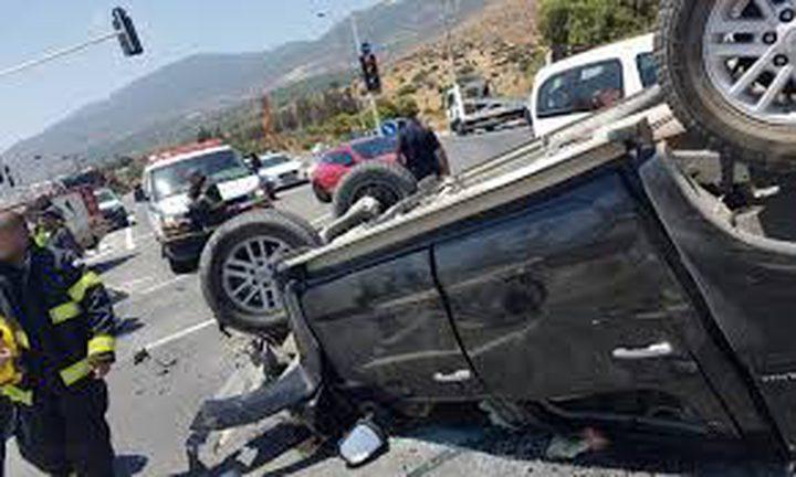 إصابتان في حادث طرق قرب قرية عيلبون