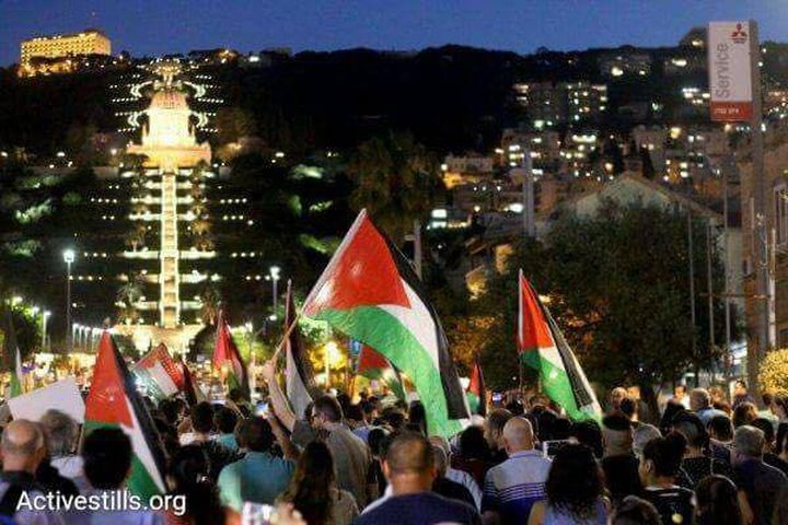 مواجهات ليلية مع الشرطة احتجاجا على جرف مقبرة الإسعاف في يافا