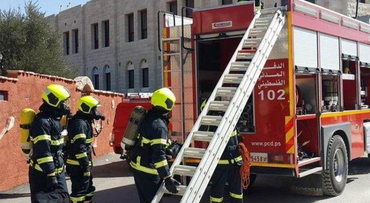 الدفاع المدني يتعامل مع 101 حادث حريق وانقاذ خلال أمس الجمعة