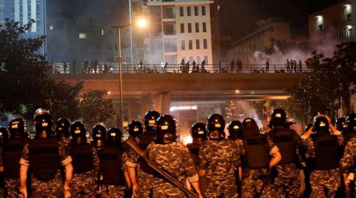 مظاهرات في لبنان احتجاجا على الوضع الاقتصادي