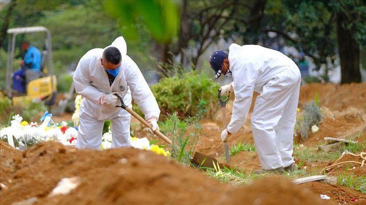 ارتفاع ملحوظ بعدد الوفيات بكورونا في البرازيل