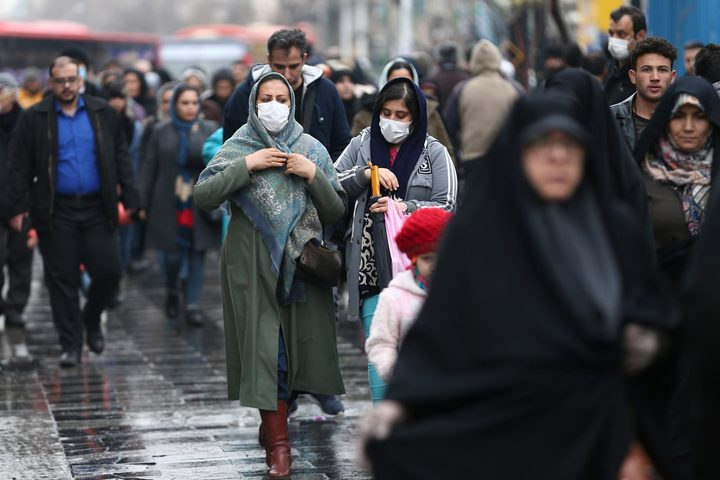 إيران تكشف أن ارتفاع إجمالي الإصابات بكورونا وصل 188 ألف حالة