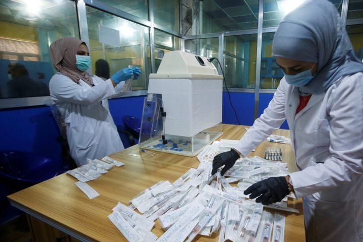 45 وفاة و1106 إصابات جديدة بفيروس كورونا في العراق