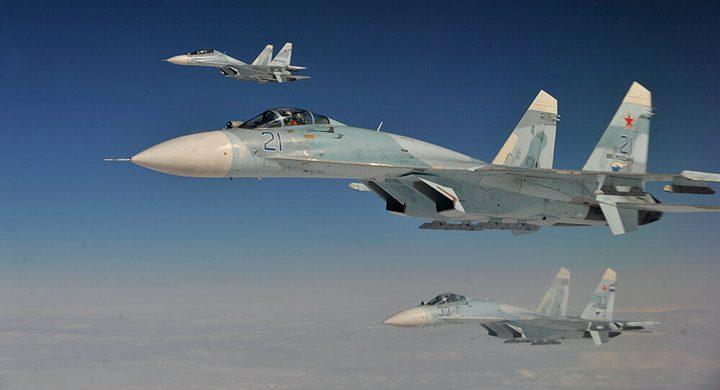 مقاتلات روسية تعترض قاذفات أمريكية فوق بحر البلطيق