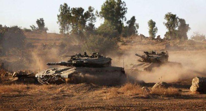 توغل لجرافات الاحتلال شمال بيت لاهيا