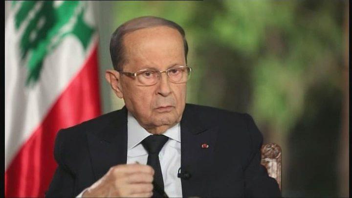 ميشال عون يدعو إلى اجتماع للمجلس الأعلى للدفاع