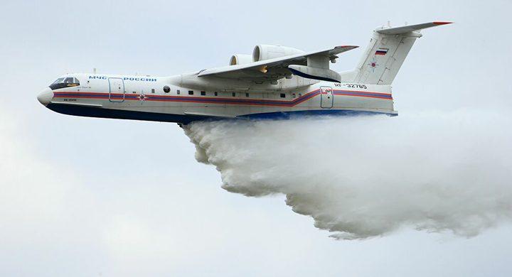 طائرات روسية تصل إلى تركيا لإطفاء الحرائق بالغابات