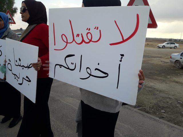 تنظيم وقفة إحتجاجية للتنديد بالعنف ضد النساء في رهط