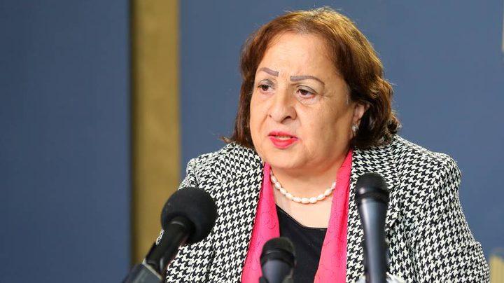 وزيرة الصحة: مئات من الانذارات تسلم الى المحال التجارية