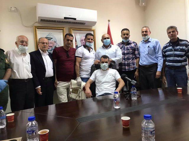 تكريم 8 أسرى محررين من محافظة جنين