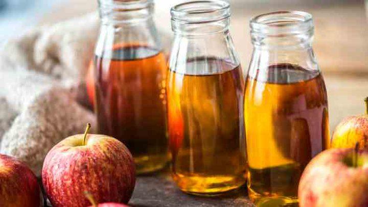 خل التفاح سلاح الجمال الخفي