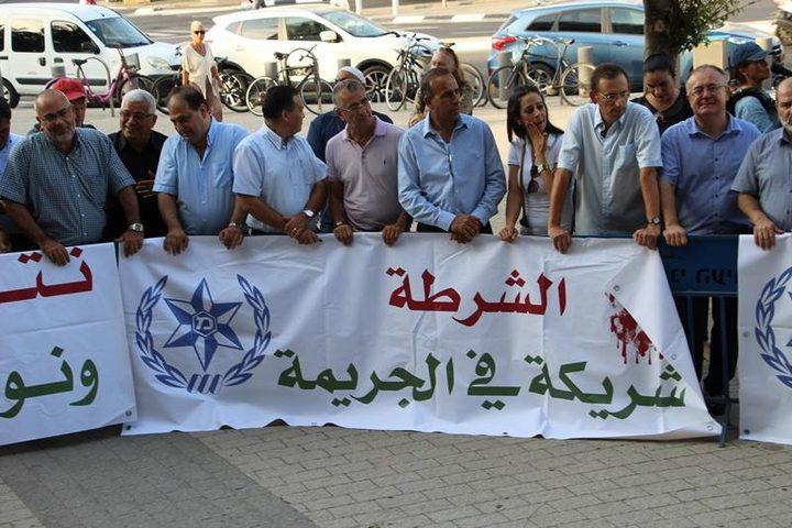 """""""أمان"""": تهميش مجتمعنا من دولة الاحتلال يزيد من نسبة الجريمة"""