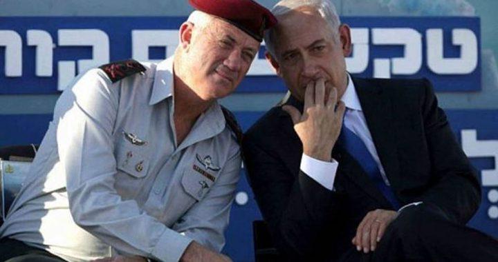 نتنياهو يطلع غانتس وأشكنازي على مخطط ضم الضفة الغربية