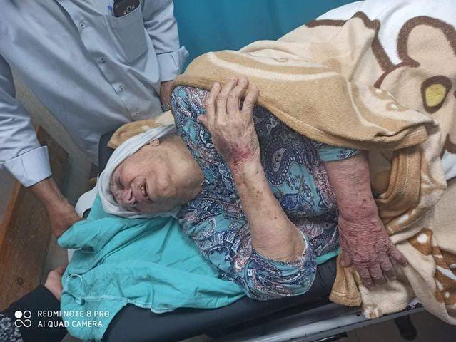 استنكار واسع لاعتداء عناصر حماس على ام جبر وشاح