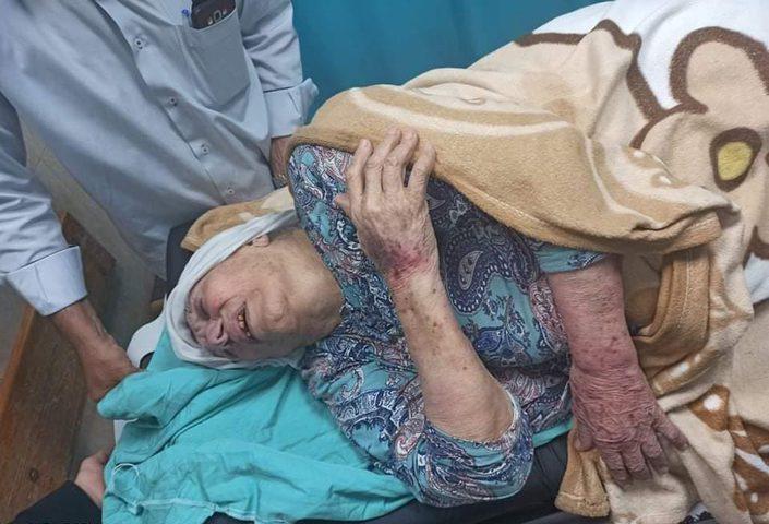 """أمن حماس يعتدي على أم الأسرى """"أم جبر وشاح"""""""