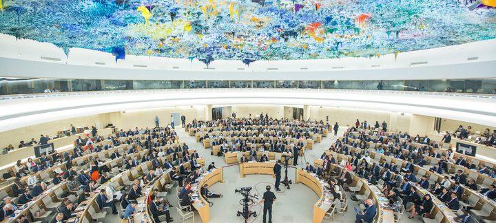 مجلس حقوق الإنسان يعتمد قرار المساءلة بأغلبية 22 دولة