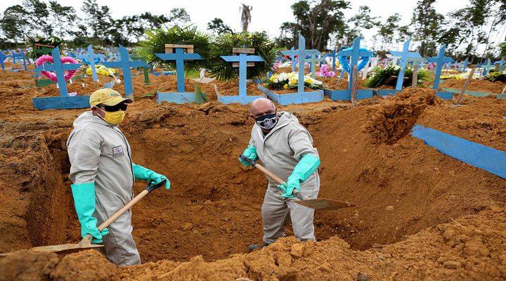 البرازيل: 155 إصابة جديدة بكورونا والحصيلة تتخطى المليون