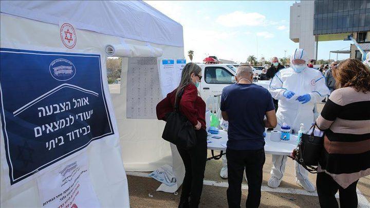 ارتفاع عدد الإصابات بفيروس كورونا في دولة الاحتلال إلى 20,533