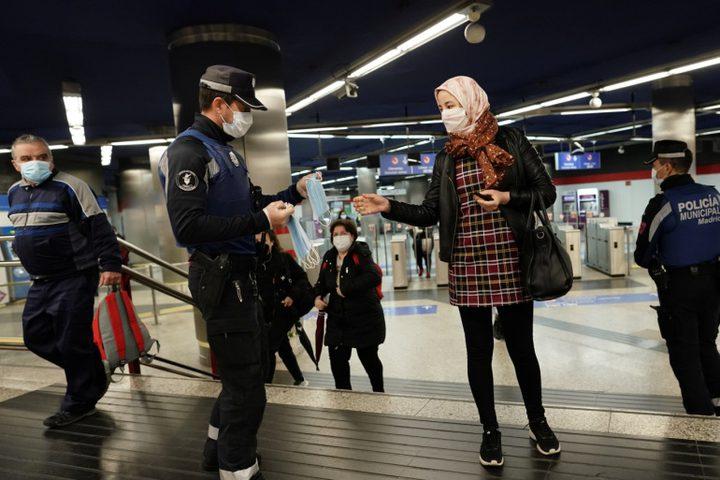 الحكومة الاسبانية تلغي الطوارئ وتفتح حدودها مع أوروبا
