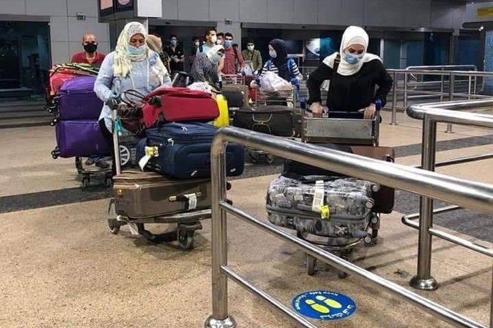 خلال عودة المواطنين العالقين في مصر لفلسطين عبر مطار القاهرة