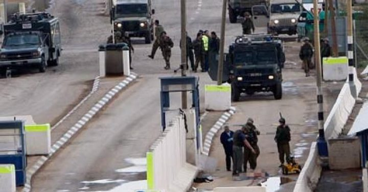 إصابات خلال مواجهات مع قوات الاحتلال على حاجز الحمرا في الأغوار