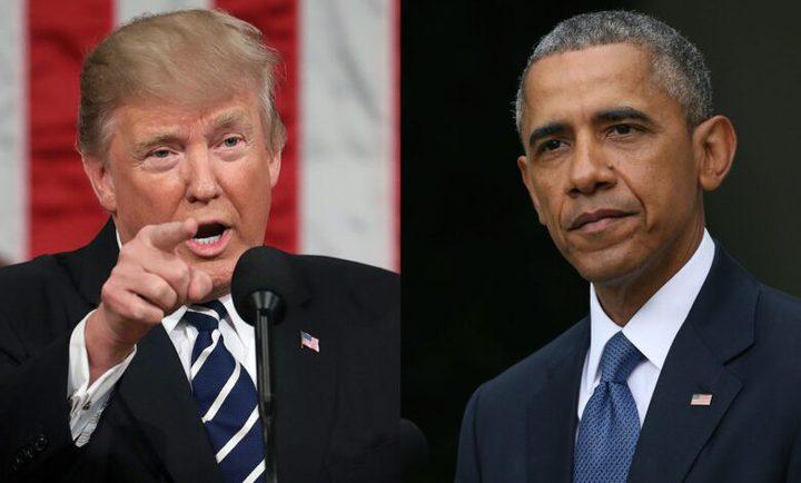 ترامب يتهم أوباما بالخيانة العظمى