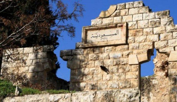 قوات الاحتلال تقتحم منطقة المسعودية شمال نابلس