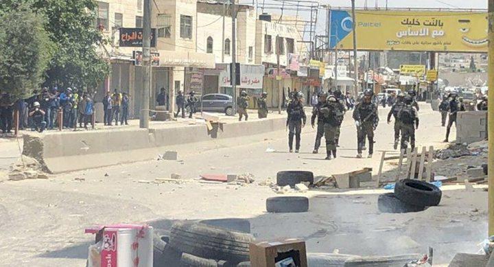 اصابةفي مخيم قلنديا وهدم منزلفي بيت حنينا شمال القدس